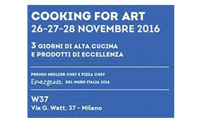 cooking for art 2016